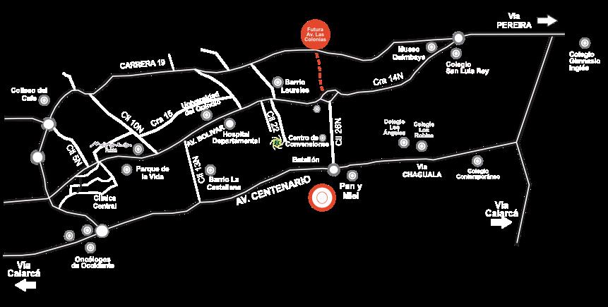 mapa Zonata